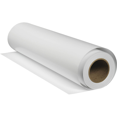 24 in. x 50 ft. Hot Press Bright Archival Inkjet Paper Roll Image 0