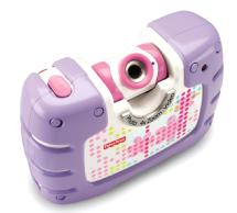 Fisher-Price Kid Tough See Yourself Camera (Purple)