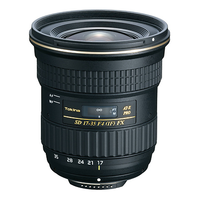 17-35mm f/4 AT-X Pro FX Lens for Nikon Image 0