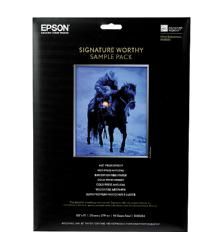 Epson 8.5 x 11in. Signature Worthy Sample Pack - 14 Sheets
