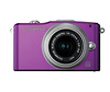 Olympus E-PM1 Pen Mini Digital Camera (Purple) with 14-42mm Lens