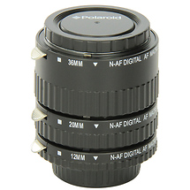 Polaroid Auto Focus DG Macro Extension Tube Set (12mm, 20mm, 36mm) for Nikon