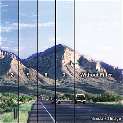4 x 6 in. Graduated Neutral Density 0.6 Filter Image 0
