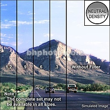 4 x 6 in. Graduated Neutral Density 0.9 Filter Image 0