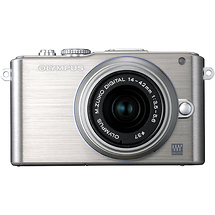 Olympus E-PL3 Digital Camera with 14-42mm Lens (Silver)