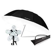 Spiderlite TD6 Parabolic Umbrella Kit with Bonus Diffusion Panel Image 0