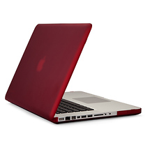 Speck SeeThru Satin Case for 15in. MacBook Pro (Red)