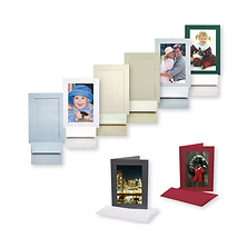 Photo Insert Cards 4x6 (Scarlet, 25 Cards) Image 0