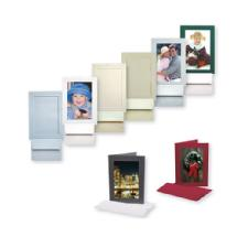 Tap Packaging Solutions Photo Insert Cards 4x6 (Scarlet, 25 Cards)