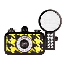 Lomography La Sardina Camera & Flash - Quadrat