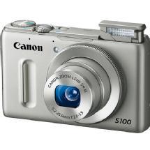 Canon PowerShot S100 Digital Camera (Silver)