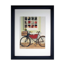 Casa Frame 11x14 with 8x10 Mat Opening (Matte Black) Image 0