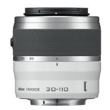 Nikon 30-110mm f/3.8-5.6 1 Nikkor CX Format VR Lens (White)