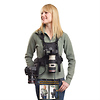 Camera Vest for All Camera Types with Side Holster (Black)