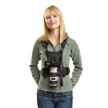 Cotton Carrier Camera Vest ONLY (Black)