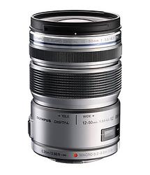 Olympus 12-50mm f/3.5-6.3 ED M.Zuiko EZ Micro 4/3 Lens (Silver)