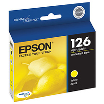 Epson 126 Yellow Ink Cartridge for Select Epson Printers
