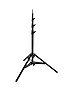 A0025B Aluminum Baby Photographic Light Stand 25 with Leveling Leg (Black)