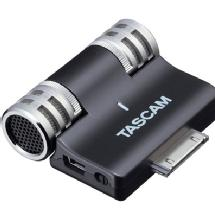 Tascam iM2 Stereo Condenser Microphone for Apple iPhone, iPad, & iPod Touch