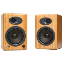 Audioengine A5+ 5 inch Active 2-Way Speakers (Bamboo)