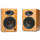 A5+ 5 inch Active 2-Way Speakers (Bamboo)