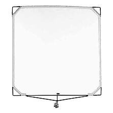 Solid Frame Scrim - 48x48 In. - Black Double Image 0
