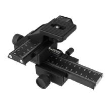 Phottix 4-Way Macro Focusing Rail Slider for DSLR Cameras