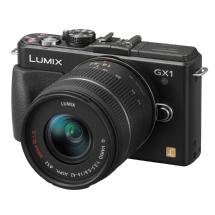 Panasonic LUMIX DMC-GX1 Digital Camera with 14-42mm G Vario Lens (Black)