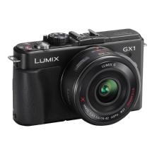 Panasonic Lumix DMC-GX1 Digital Camera with 14-42mm G X Vario PZ Lens (Black)