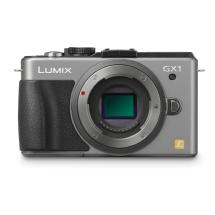 Panasonic LUMIX DMC-GX1 Digital Camera Body (Silver)