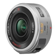 Panasonic Lumix G X Vario PZ 14-42mm f/3.5-5.6 Power O.I.S. Lens (Silver)