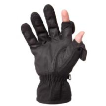 Freehands Men's Stretch Gloves - Black, Medium