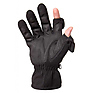 Men's Stretch Gloves - Black, Large