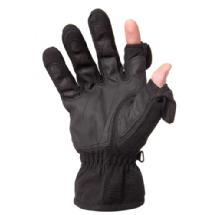 Freehands Men's Stretch Gloves - Black, Large