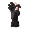 Freehands | Ladies Stretch Gloves - Black, Large | 1112LL