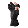 Ladies Stretch Gloves - Black, Large