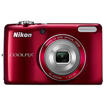 Nikon Coolpix L26 Digital Camera (Red)