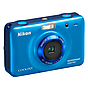 Nikon Coolpix S30 Digital Camera (Blue)