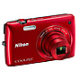 Nikon Coolpix S4300 Digital Camera (Red)