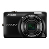 Nikon Coolpix S6300 Digital Camera (Black)
