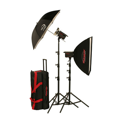 500W/s PowerLight Digital Travel Kit (120V) Image 0