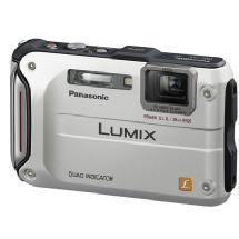 Panasonic Lumix DMC-TS4 Digital Camera (Silver)