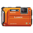 Lumix DMC-TS4 Digital Camera (Orange)
