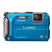 Panasonic Lumix DMC-TS4 Digital Camera (Blue)