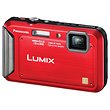 Lumix DMC-TS20 Digital Camera (Red)