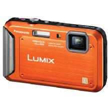 Panasonic Lumix DMC-TS20 Digital Camera (Orange)