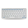 Rapoo E6300 Bluetooth Ultra-slim Keyboard for iPad (White)