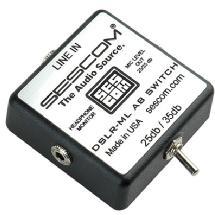 Sescom DSLR-ML Mini-Link Line to Mic Level Interface