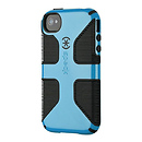 CandyShell Grip Case for iPhone 4 & 4S (Blue)