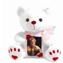 Neil Enterprises Inc. Photo Plush Bear (2-1/2 x 3-1/2 in. Photo)